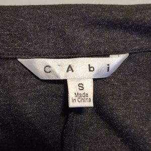 CAbi Jackets & Coats - CAbi Lisbon Ponte Knit Jacket Topper Gray S